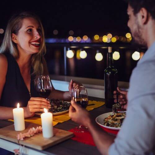 Reigniting the Spark and enjoying a romantic dinner together